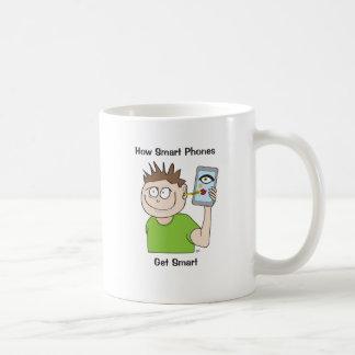 頭が切れる電話 コーヒーマグカップ