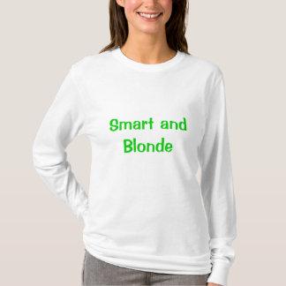 頭が切れる、ブロンド Tシャツ