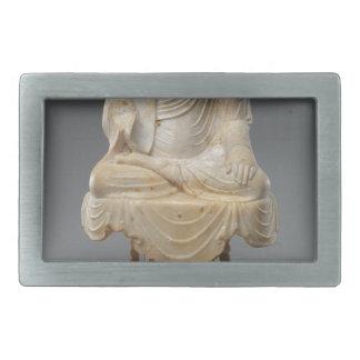 頭のない仏-唐朝(618-907) 長方形ベルトバックル