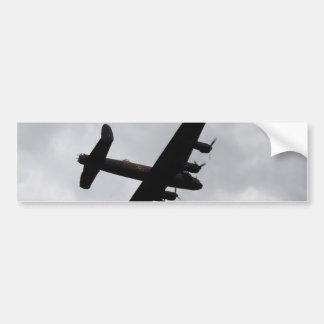 頭上式ランカスターの爆撃機 バンパーステッカー
