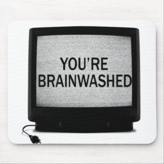 頭脳およびマウスのmouspad マウスパッド