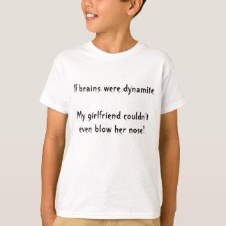 頭脳がダイナマイト Tシャツ