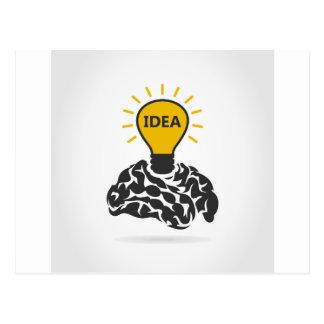頭脳のアイディア ポストカード