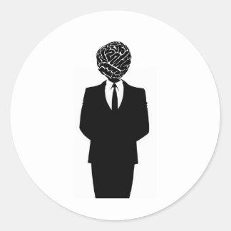頭脳のスーツ ラウンドシール