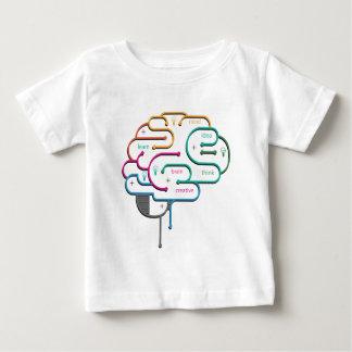 頭脳の円 ベビーTシャツ