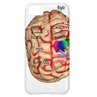 頭脳の左右の側面 iPhone5Cケース
