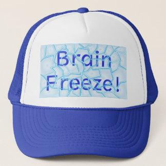 頭脳の氷結の帽子 キャップ
