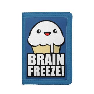 頭脳の氷結 ナイロン三つ折りウォレット