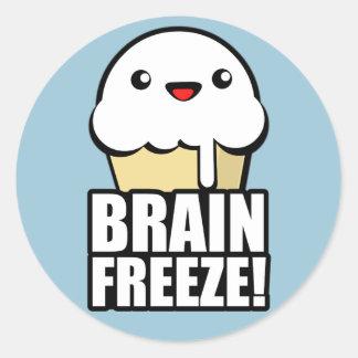 頭脳の氷結 ラウンドシール