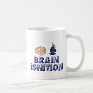 頭脳の点火のマグ コーヒーマグカップ