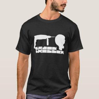 頭脳の穴あけ機 Tシャツ