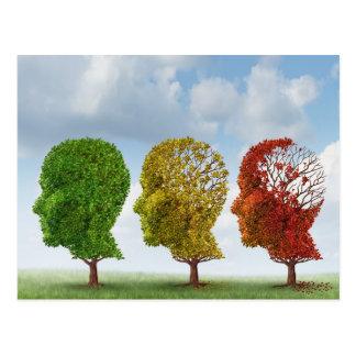 頭脳の老化 ポストカード