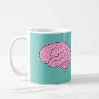 頭脳の食糧マグ コーヒーマグカップ