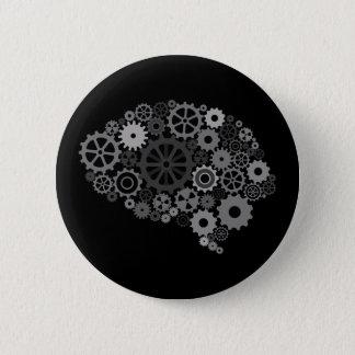頭脳はボタンを連動させます 缶バッジ
