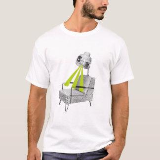 頭脳はヴィンテージのヘアードライヤーのワイシャツを放射します Tシャツ