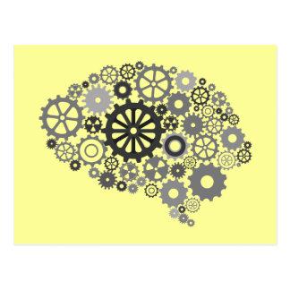頭脳は郵便はがきを連動させます ポストカード