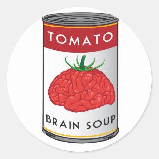 頭脳スープ ラウンドシール