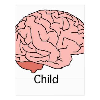頭脳子供 ポストカード