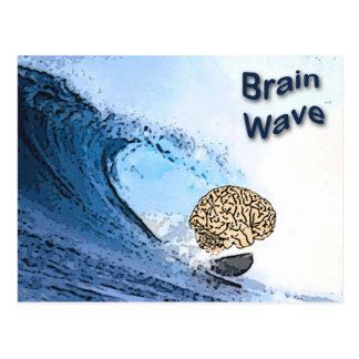 頭脳波 ポストカード