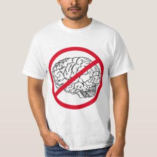 頭脳無し Tシャツ