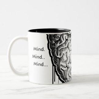 頭脳 ツートーンマグカップ