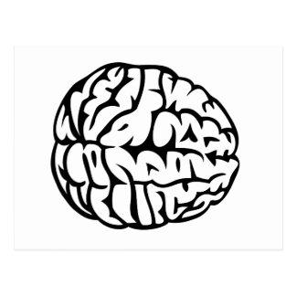 頭脳 ポストカード