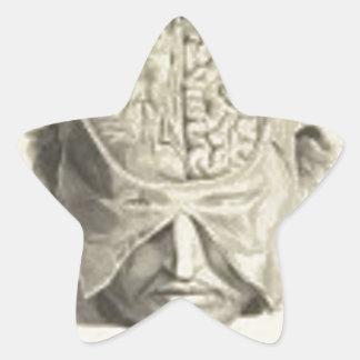 頭脳 星シール