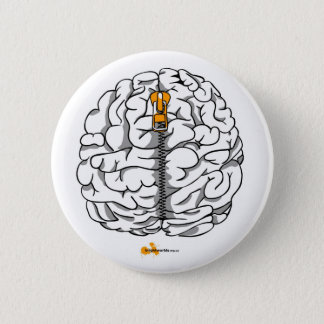 頭脳 缶バッジ