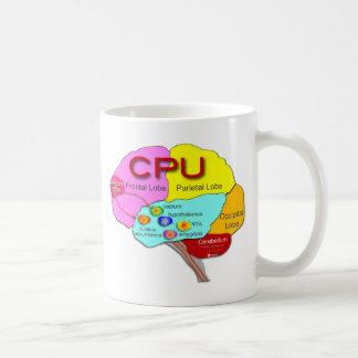頭脳CPUライト コーヒーマグカップ