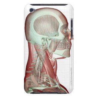 頭部および首2のMusculoskeleton Case-Mate iPod Touch ケース