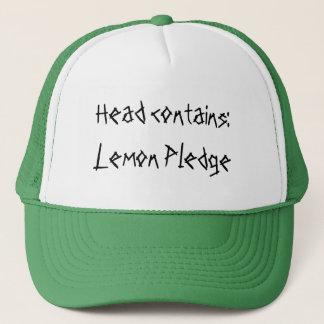 頭部は含んでいます: レモン帖当 キャップ