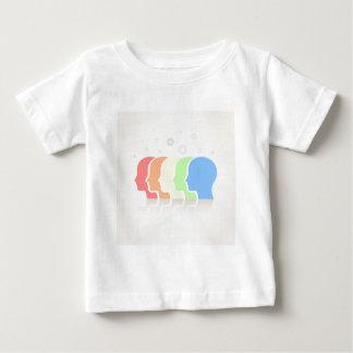 頭部 ベビーTシャツ