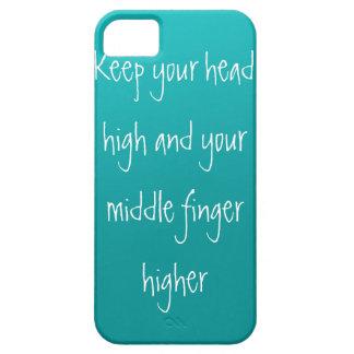 頭部、高の指 iPhone SE/5/5s ケース