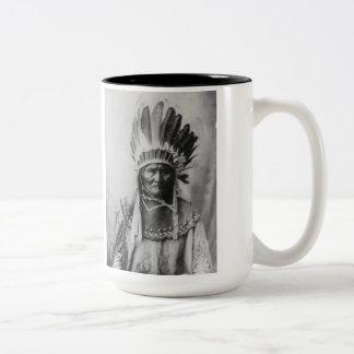 「頭飾りとのGeronimo ツートーンマグカップ