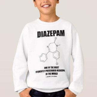 頻繁のジアゼパムの所定の薬物 スウェットシャツ