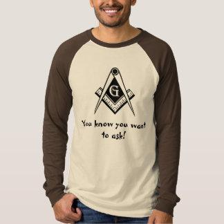 頼みたいと思うことを石工、知っています! Tシャツ