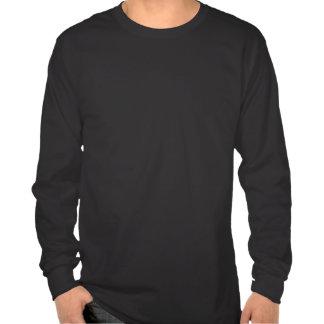 顔の人の長袖のワイシャツ