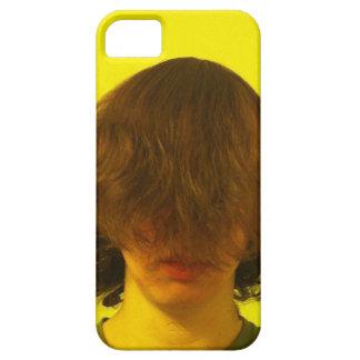 顔の人のiphoneの場合上の毛 iPhone SE/5/5s ケース
