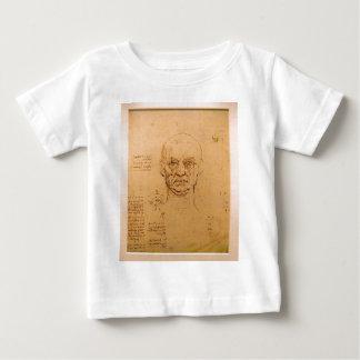 顔の勉強 ベビーTシャツ