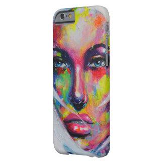 顔の女の子 BARELY THERE iPhone 6 ケース