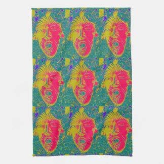 顔タオルのパターン キッチンタオル