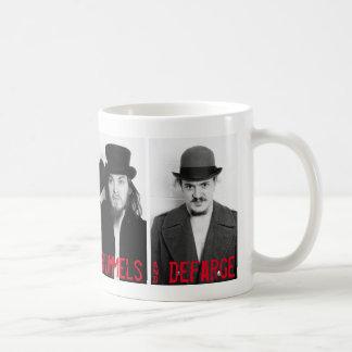 顔写真のマグ コーヒーマグカップ