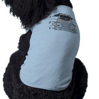顔写真犬の漫画 ペット服