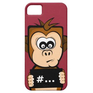 顔写真猿! iPhone SE/5/5s ケース
