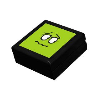 顔文字のカスタマイズ可能な背景のギフト用の箱 ギフトボックス