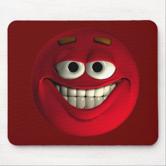 顔文字の赤 マウスパッド