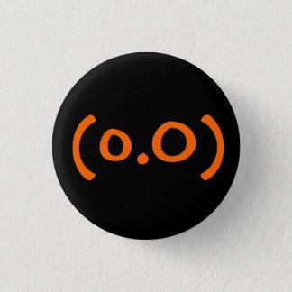 顔文字ボタン 3.2CM 丸型バッジ