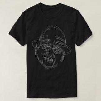 顔 白ライン Shake! Tシャツ