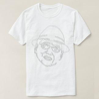 顔 黒ライン Shake! Tシャツ