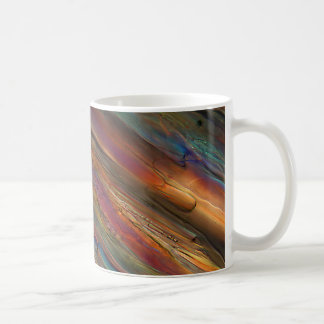 顕微鏡の下のワイン-ピノー種の葡萄grigio コーヒーマグカップ